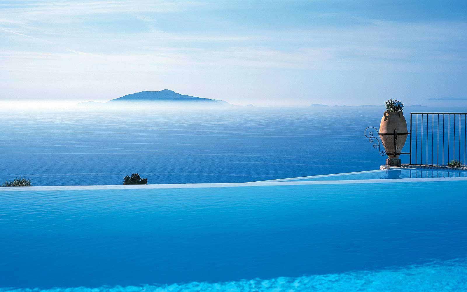 Swimming pool at Hotel Caesar Augustus