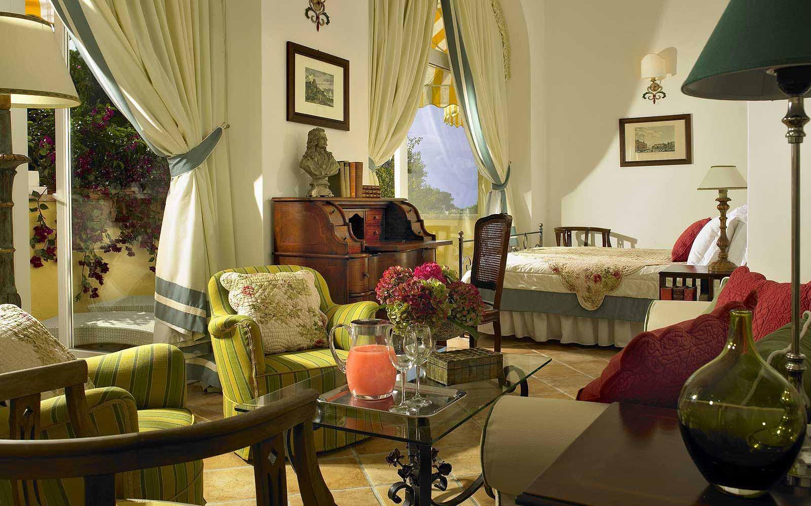 Caesar suite at Hotel Caesar Augustus