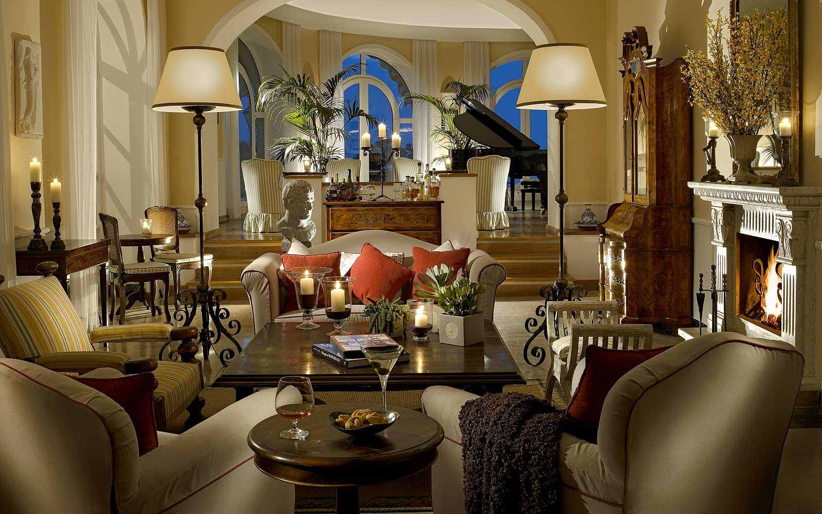 Lobby at Hotel Caesar Augustus