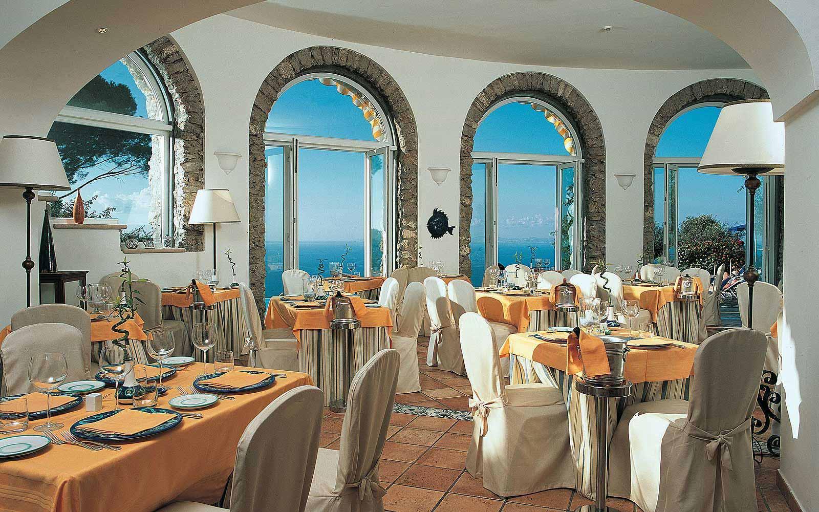 Restaurant at Hotel Caesar Augustus