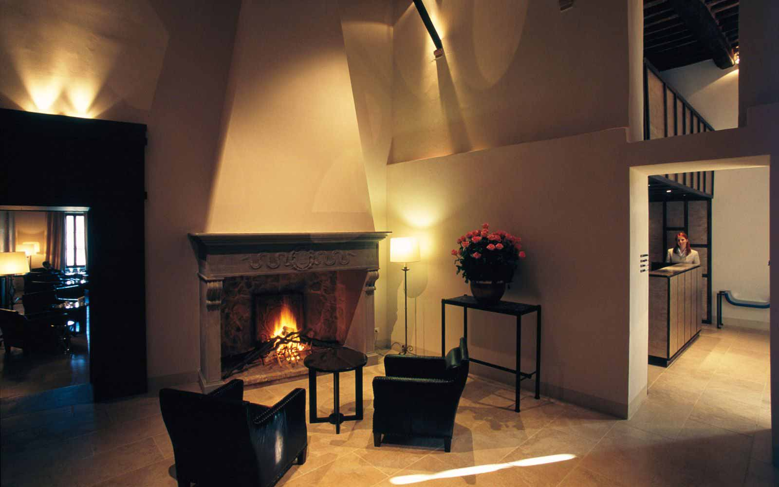 Lobby at Castel Monastero Tuscan Resort & Spa
