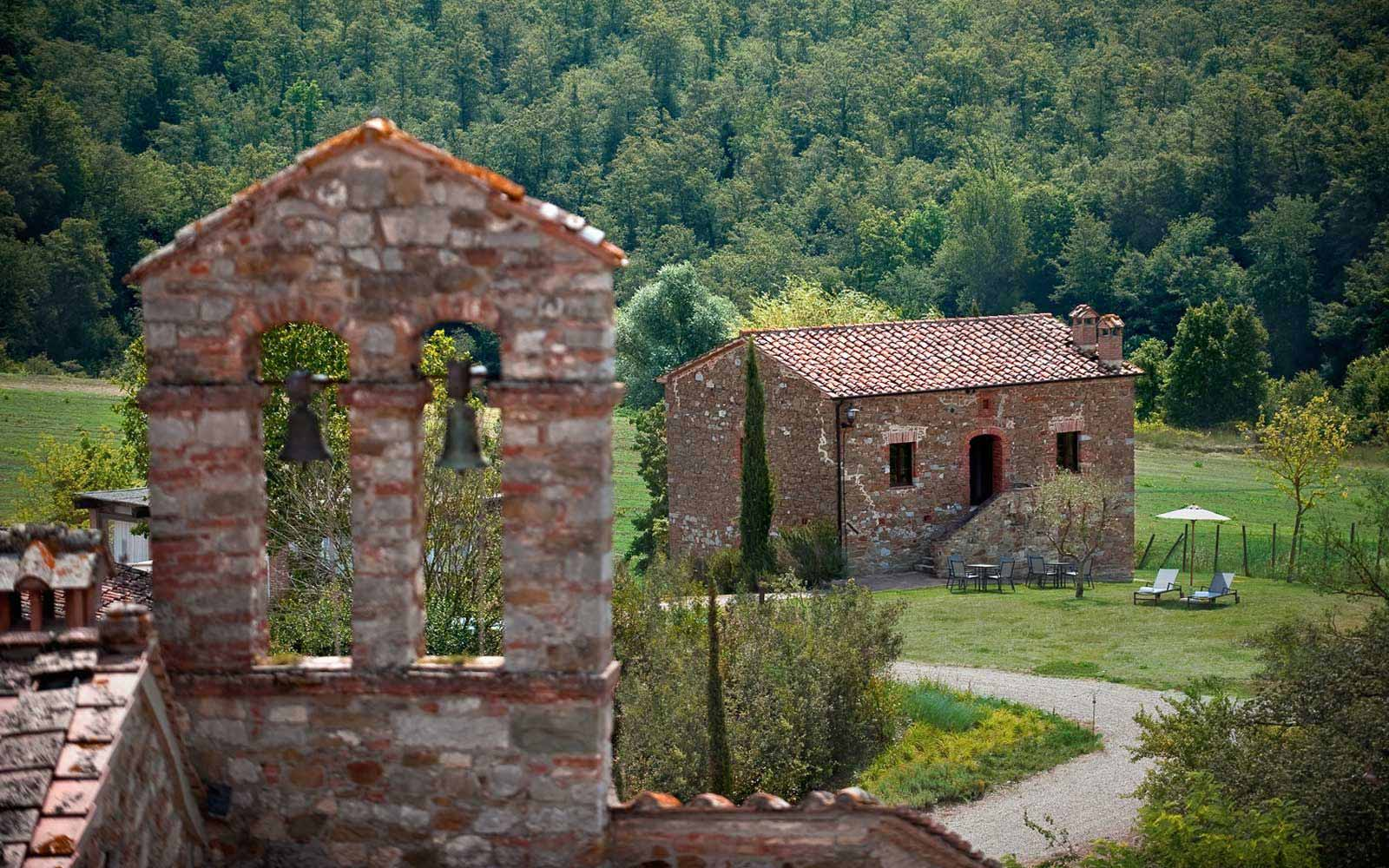 Landscapes at Castel Monastero Tuscan Resort & Spa