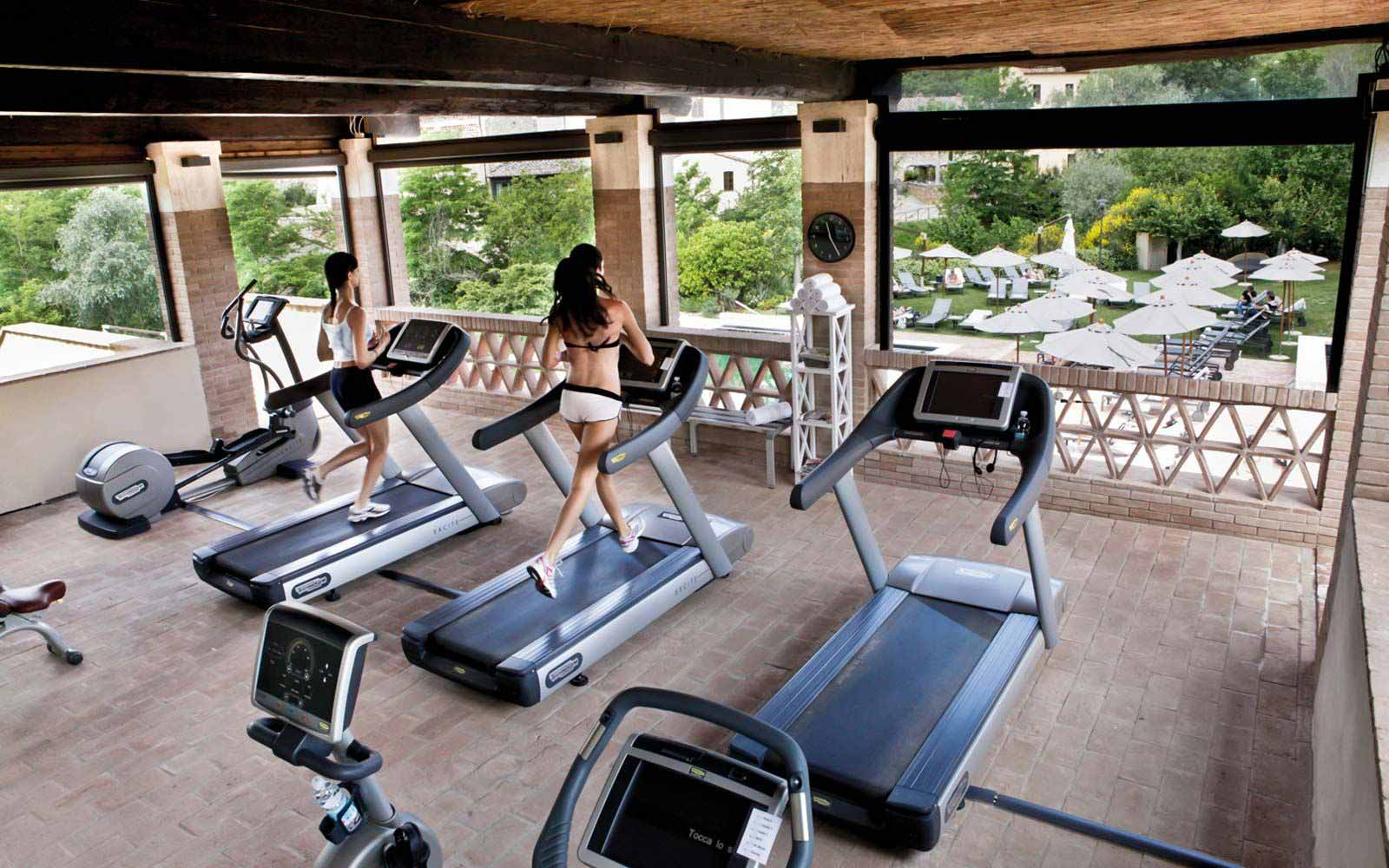 Gym at Castel Monastero Tuscan Resort & Spa