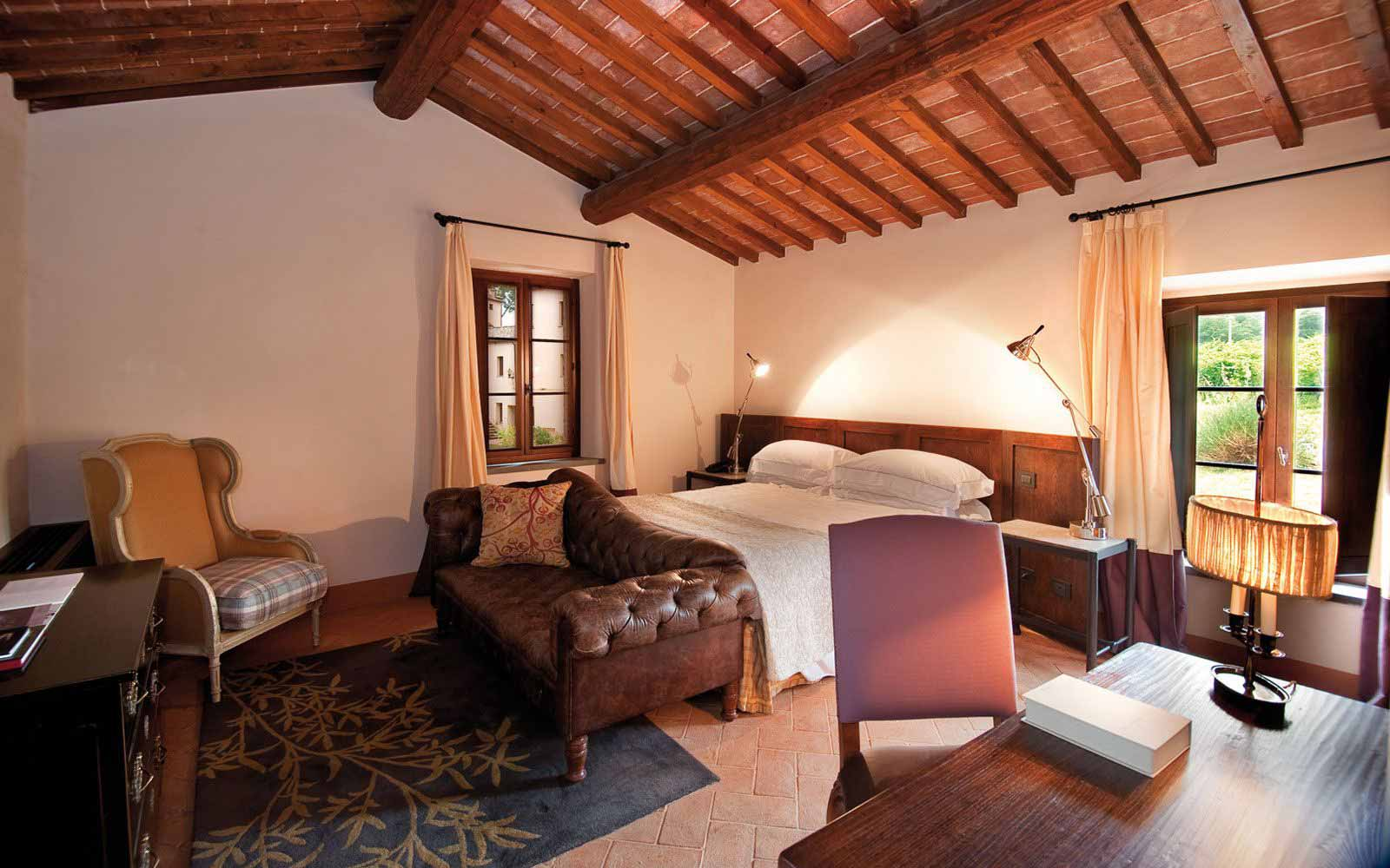 Prestige room at Castel Monastero Tuscan Resort & Spa