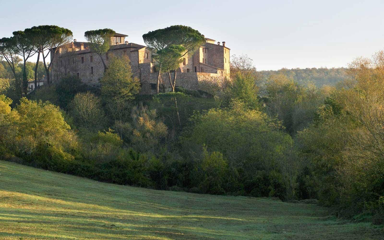 External view of Castel Monastero Tuscan Resort & Spa