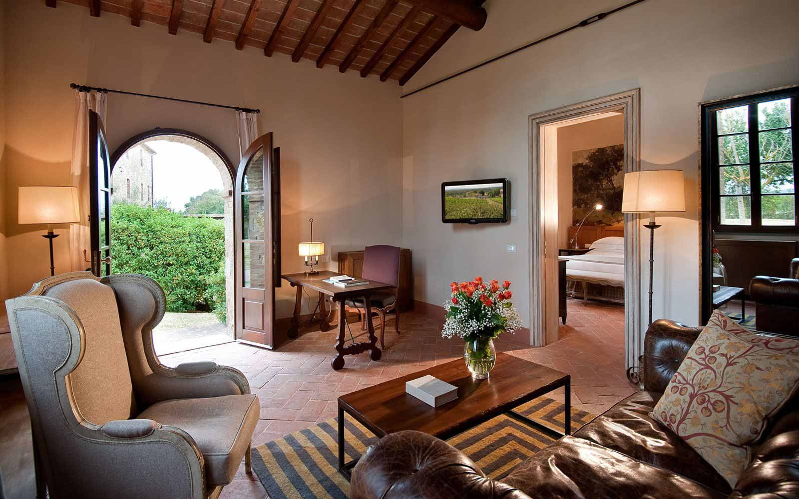 Royal Suite at Castel Monastero Tuscan Resort & Spa