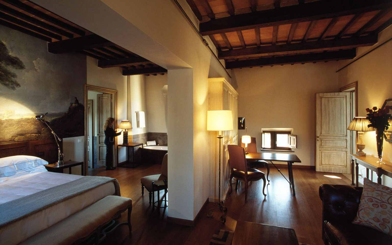 Junior Suite at Castel Monastero Tuscan Resort & Spa