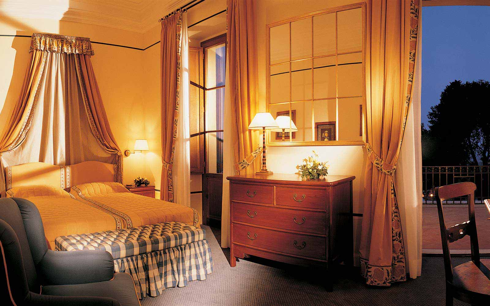 Deluxe room at the Fonteverde