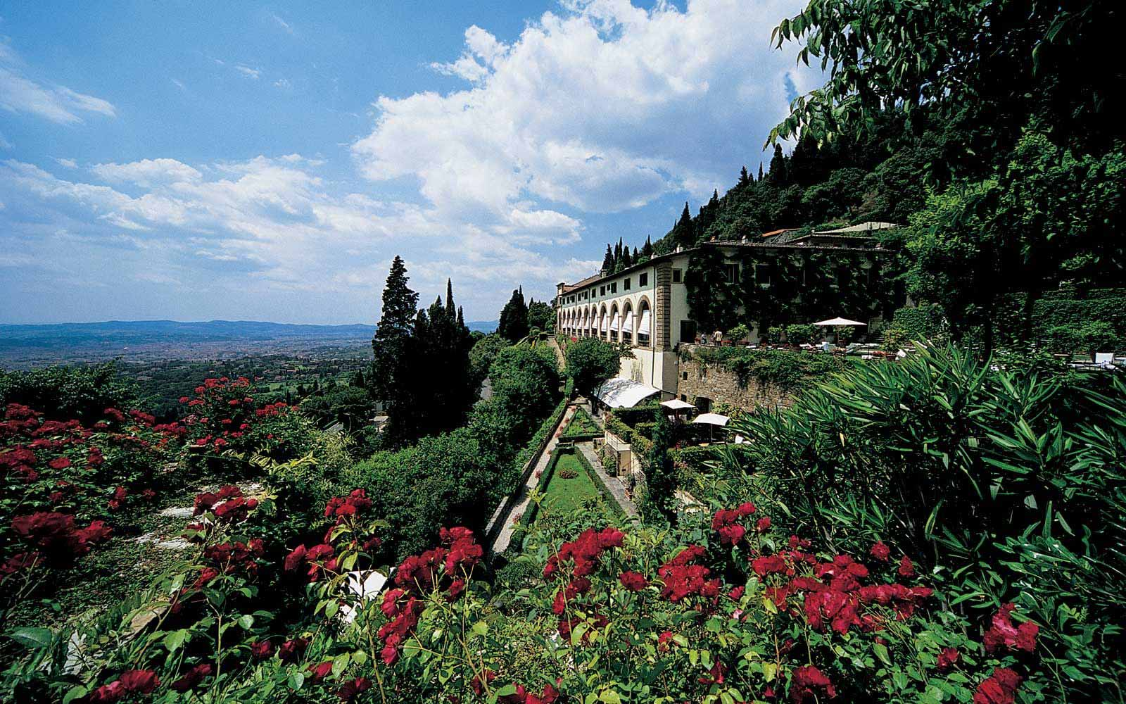 Luxurious gardens at Belmond Villa San Michele