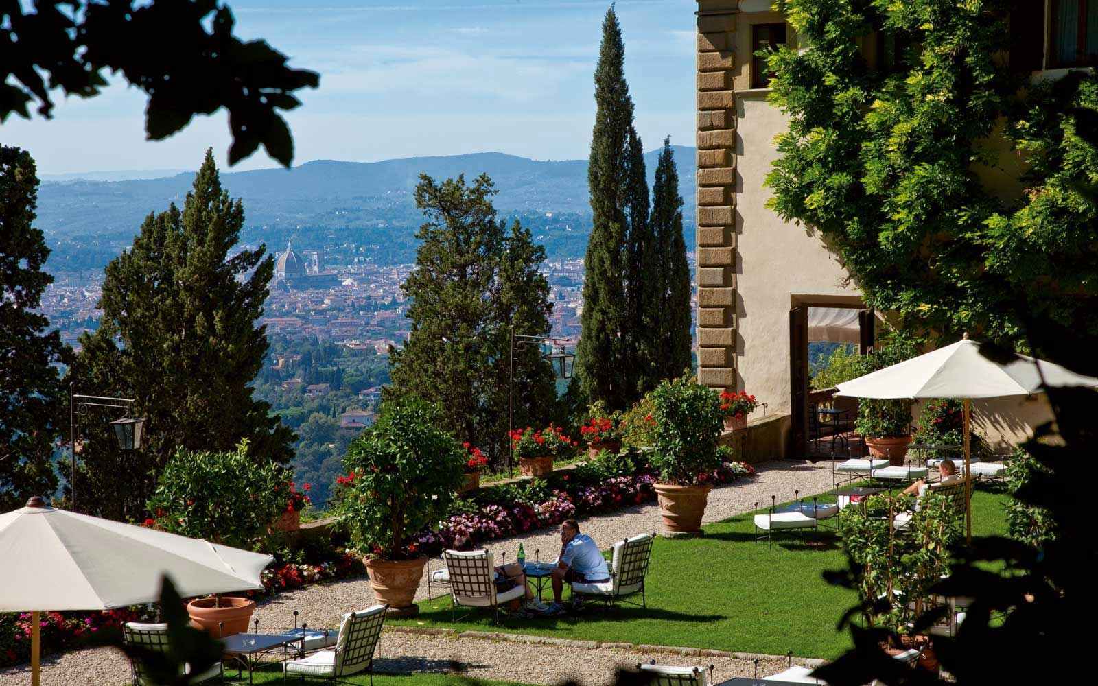 View from the Belmond Villa San Michele