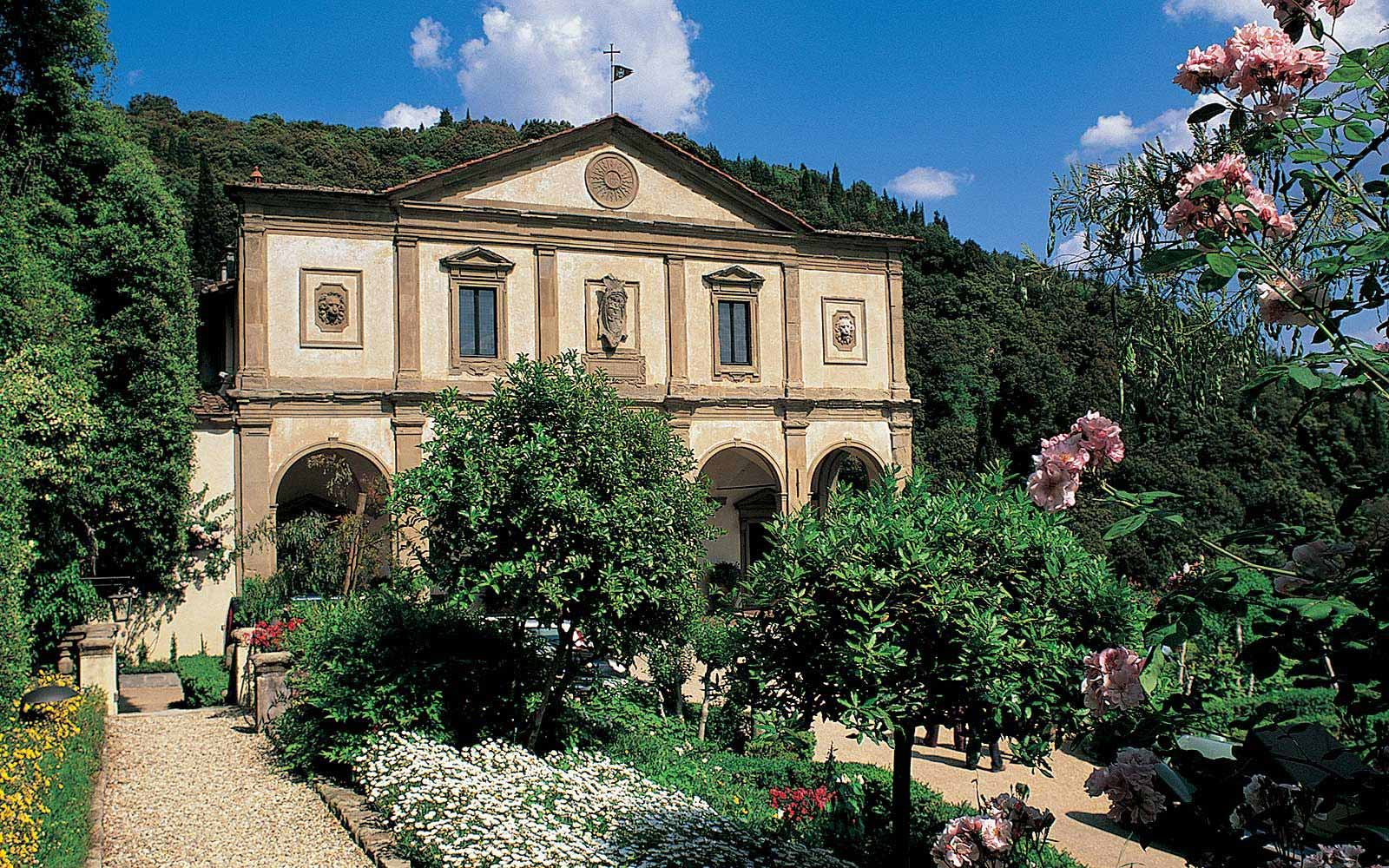 Grounds at Belmond Villa San Michele