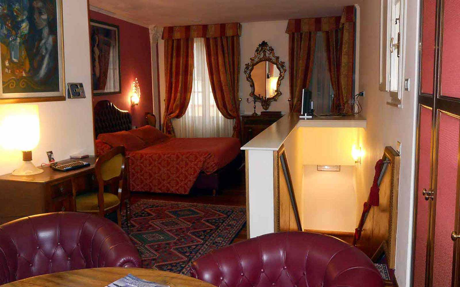 A suite at Hotel Noblesse