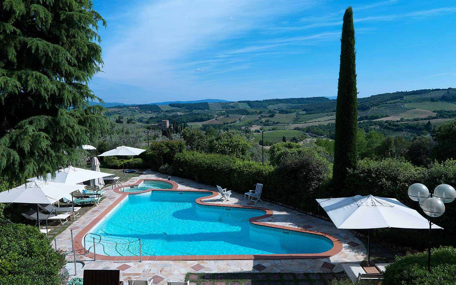 Swimming pool at Relais Santa Chiara