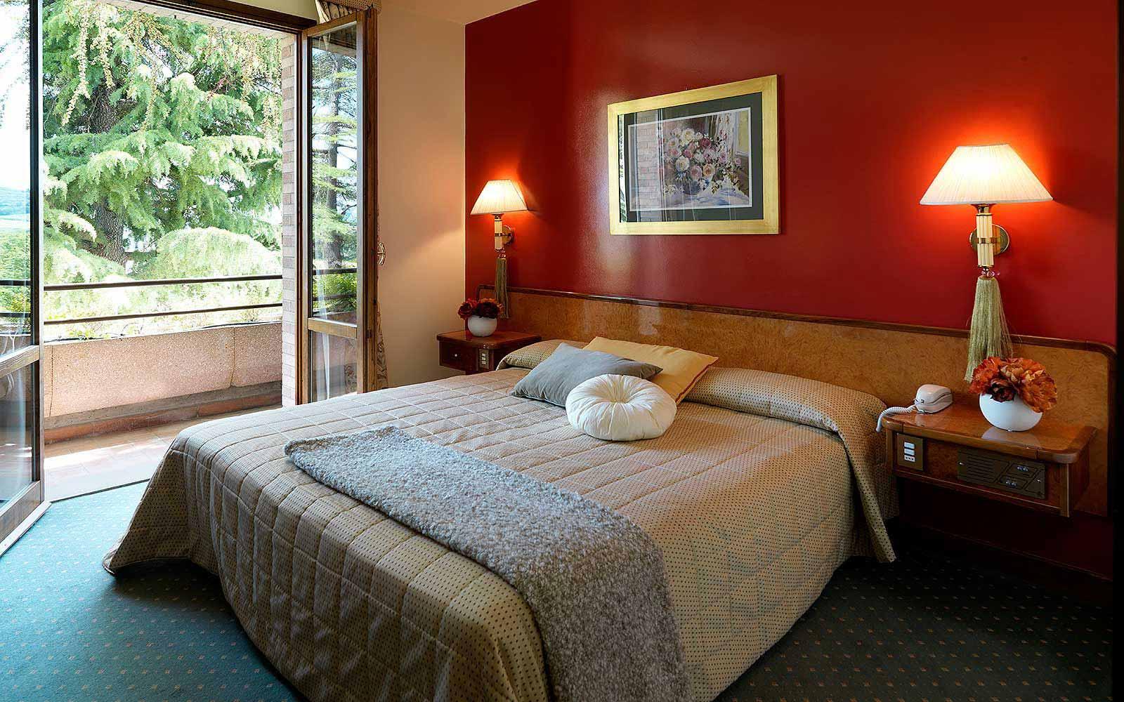 Classic room at Relais Santa Chiara
