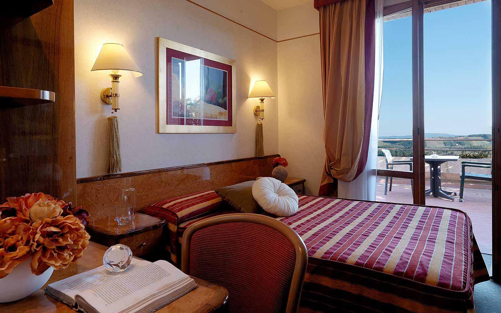 Small room at Relais Santa Chiara