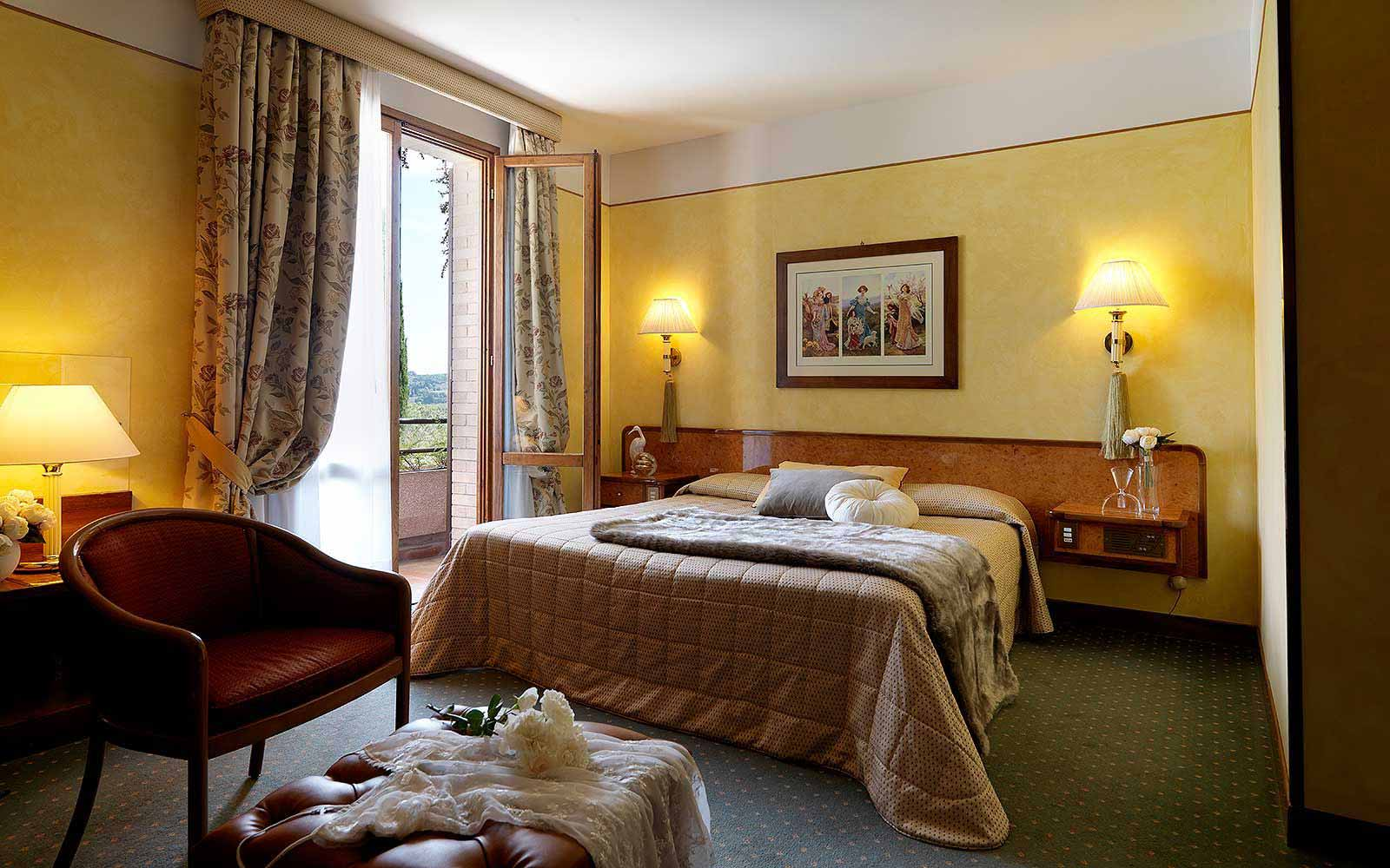 Superior room at Relais Santa Chiara