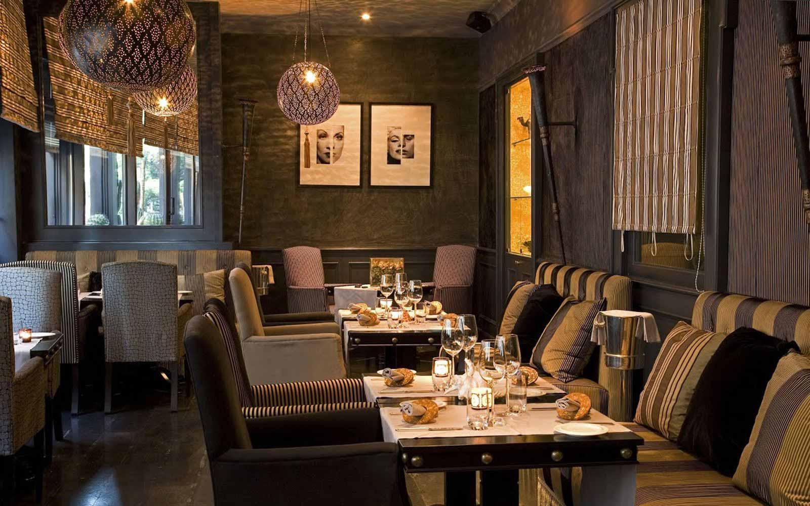 Brunello restaurant at Regina Hotel Baglioni