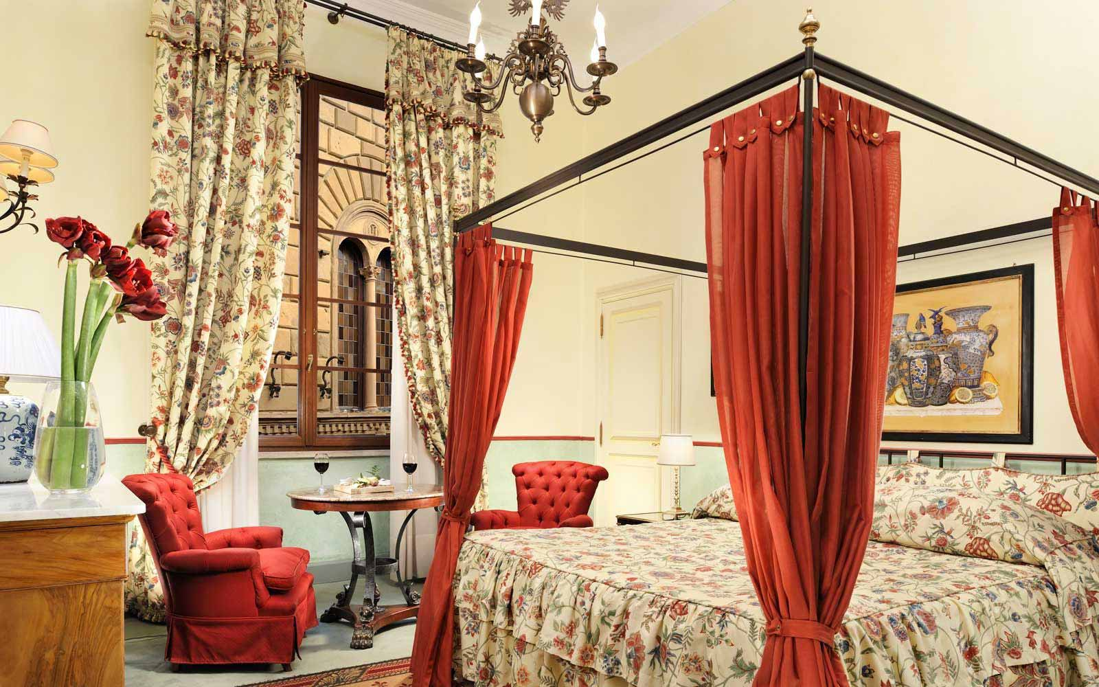 Classic Room at the Grand Hotel Continental