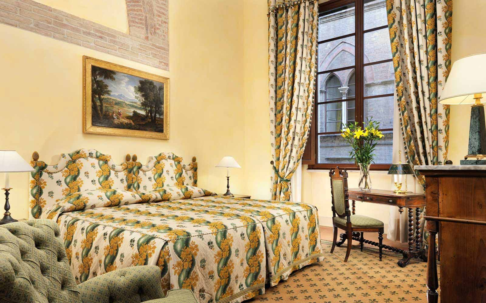 Executive Double Room at the Grand Hotel Continental