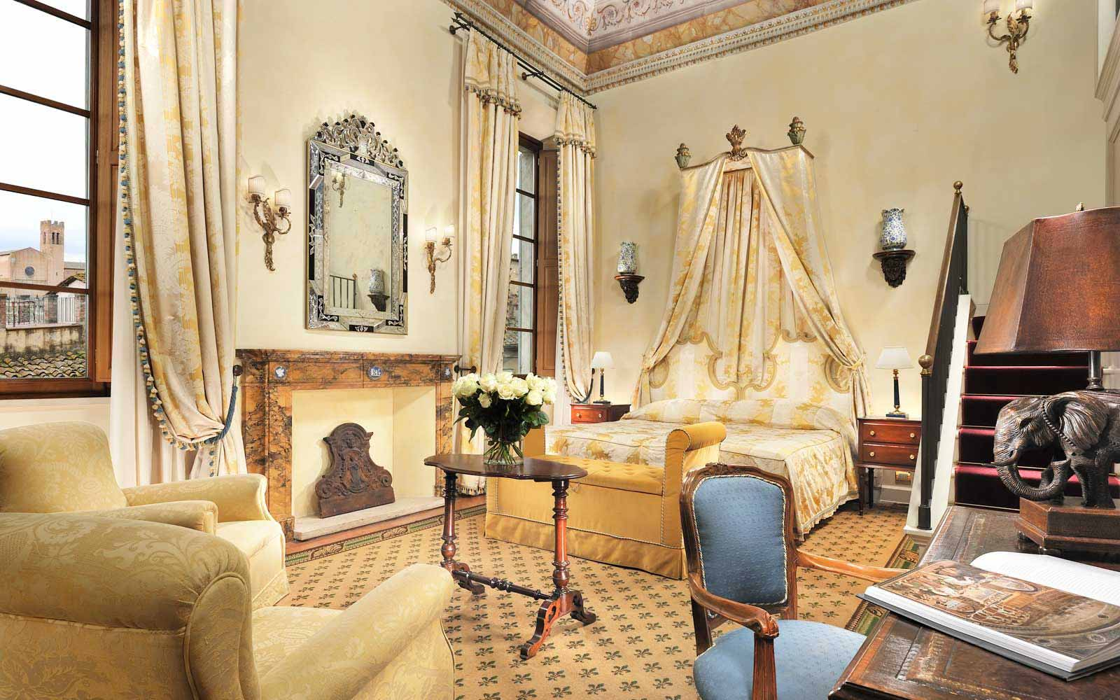 Royal Junior Suite at the Grand Hotel Continental