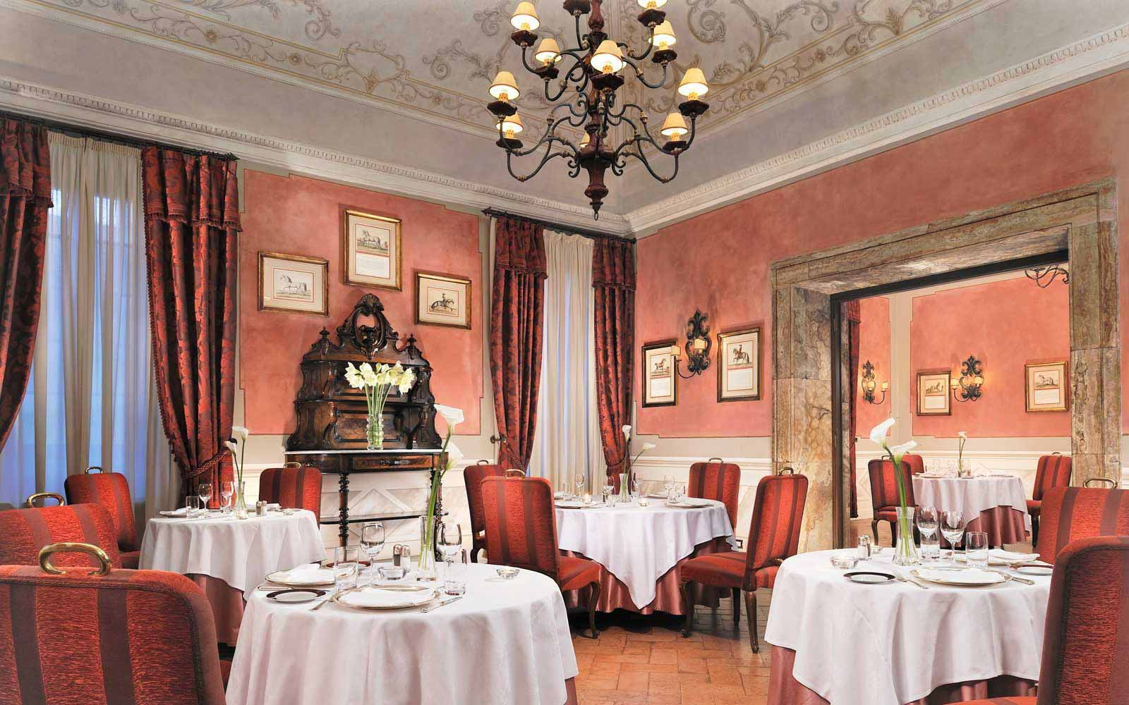 Restaurant at the Grand Hotel Continental