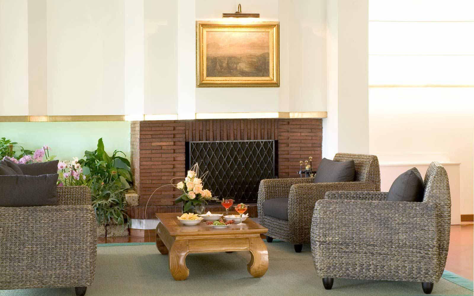 Lobby at Hotel Astor