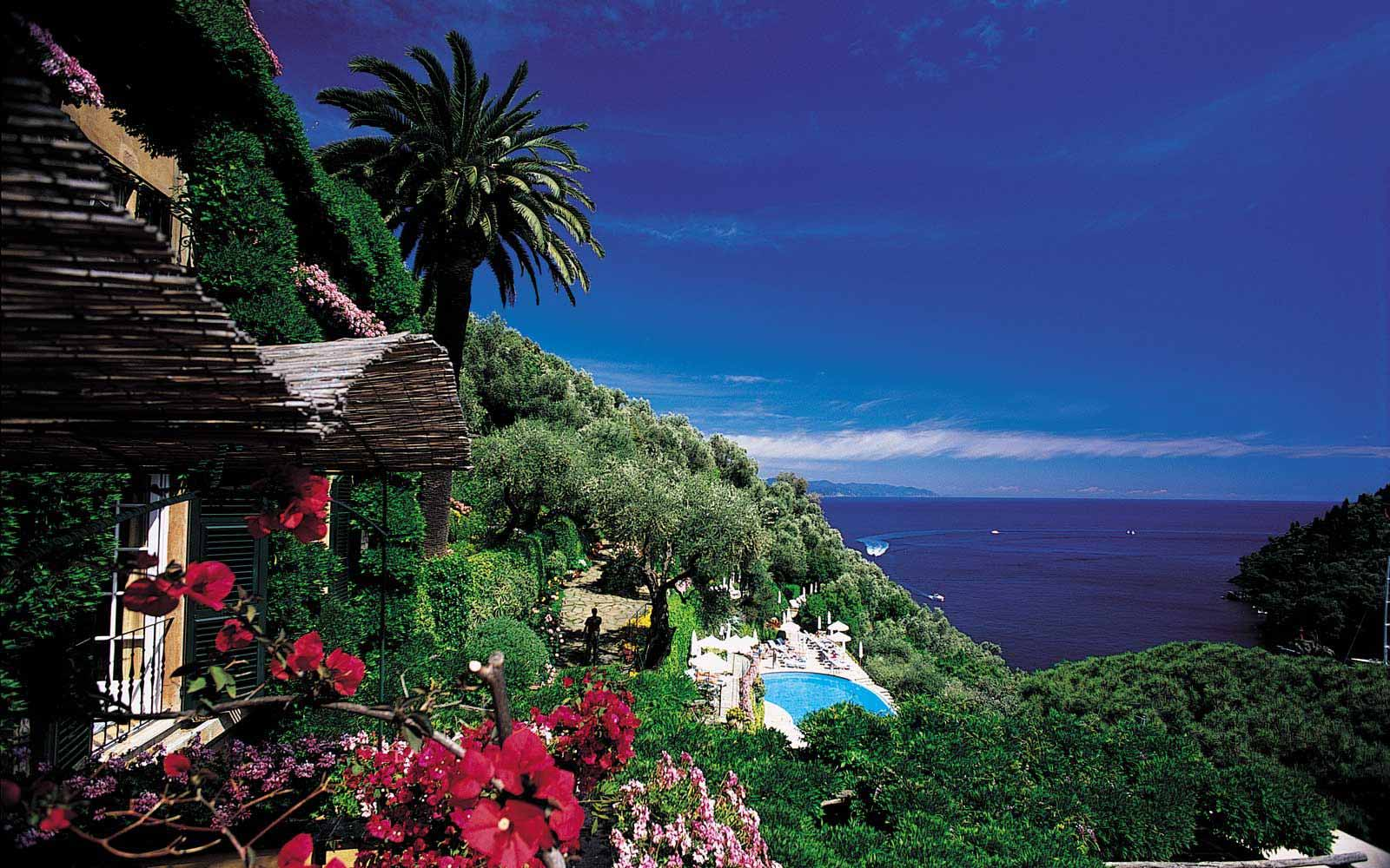 Views from Belmond Hotel Splendido & Splendido Mare