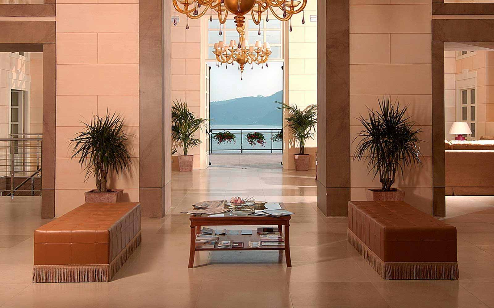 Lobby at Grand Hotel Bristol