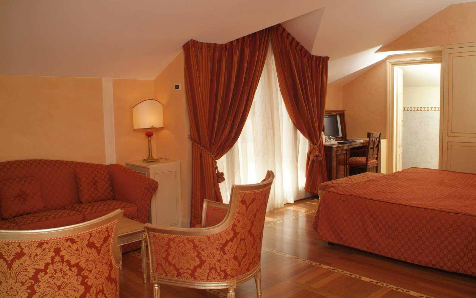 Junior suite at Grand Hotel Imperiale
