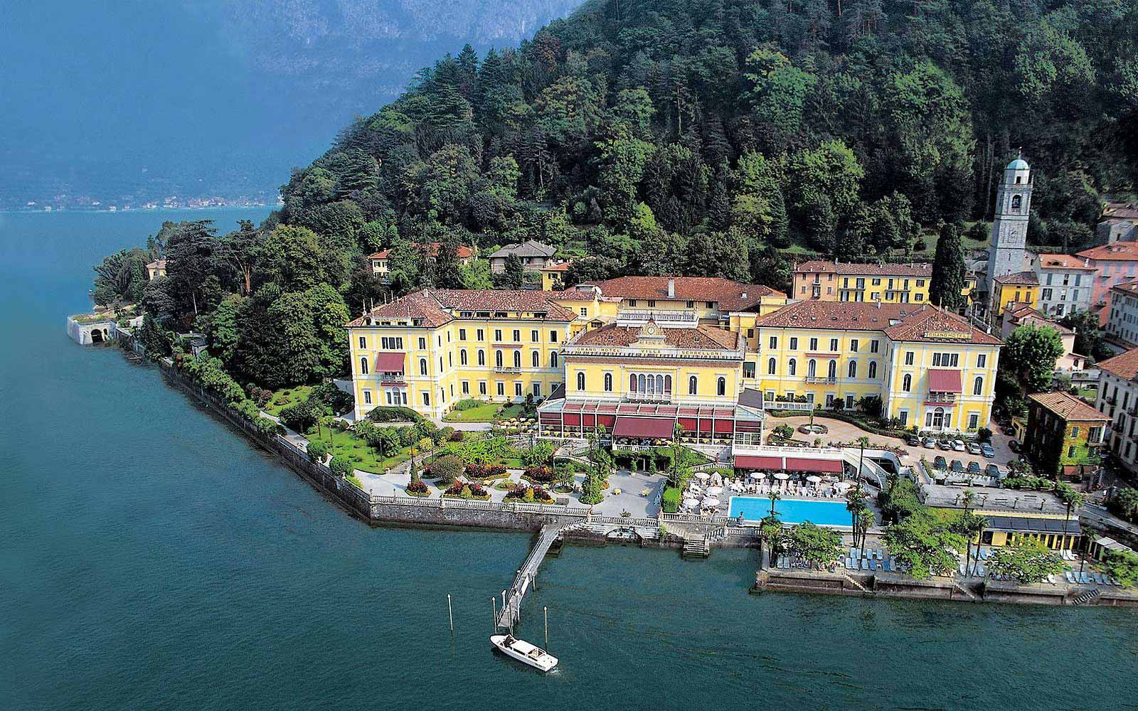 Panoramic view of Grand Hotel Villa Serbelloni