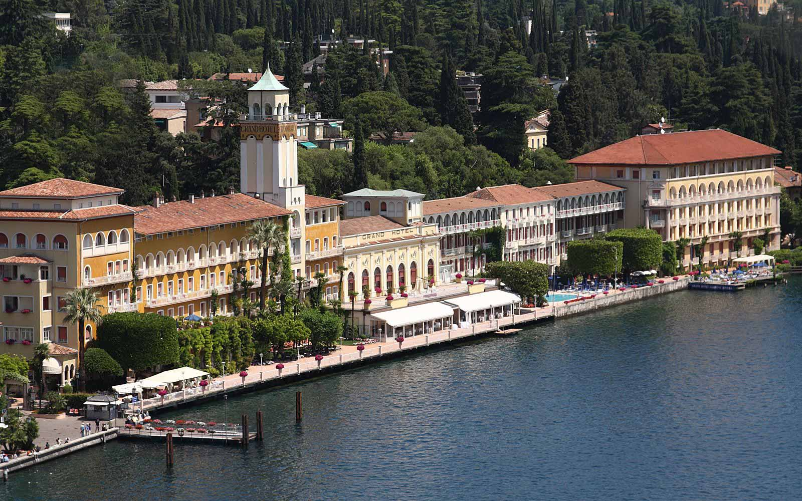 Panoramic view of Grand Hotel Gardone