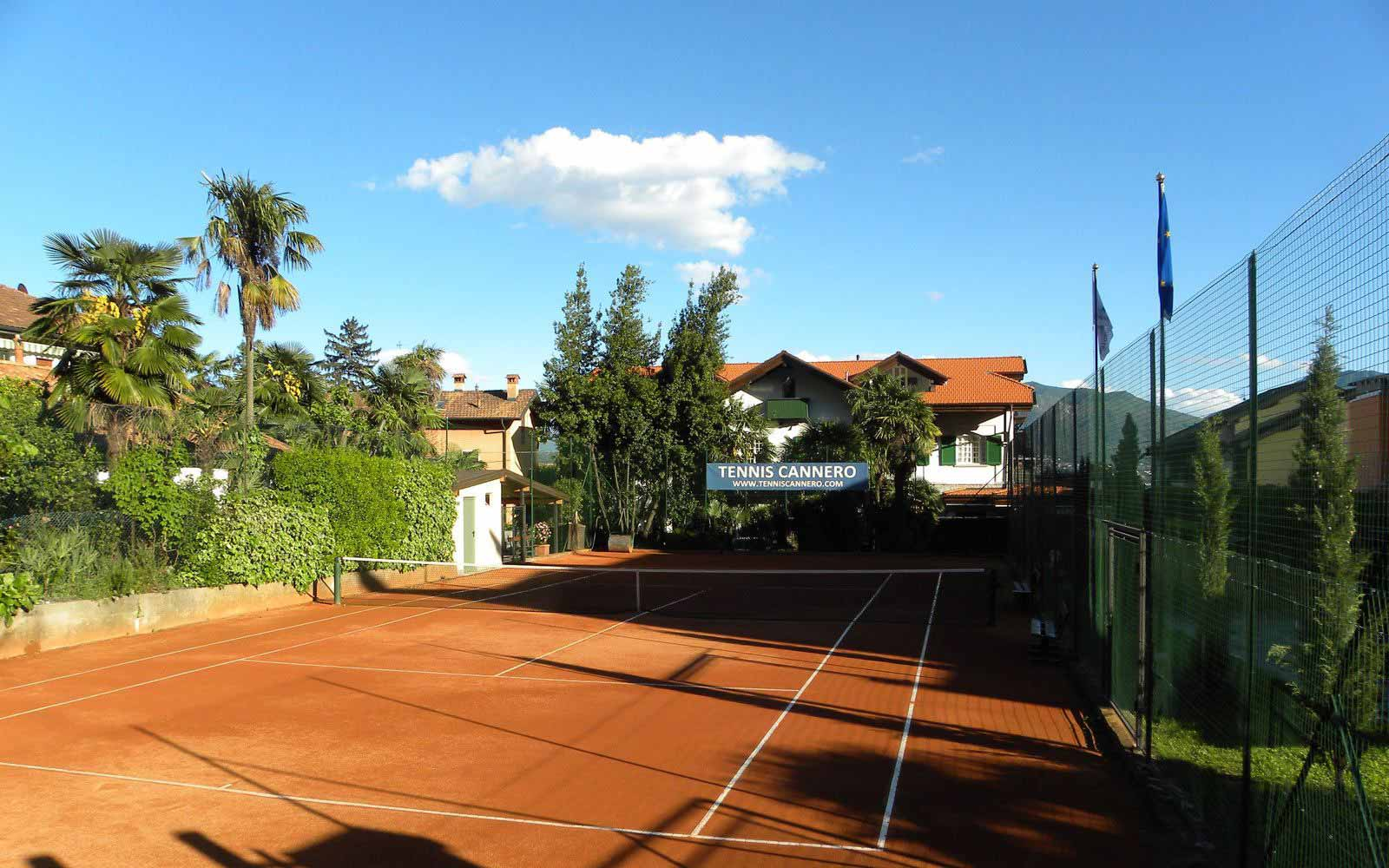 Tennis court at Hotel Cannore Lakeside Resort