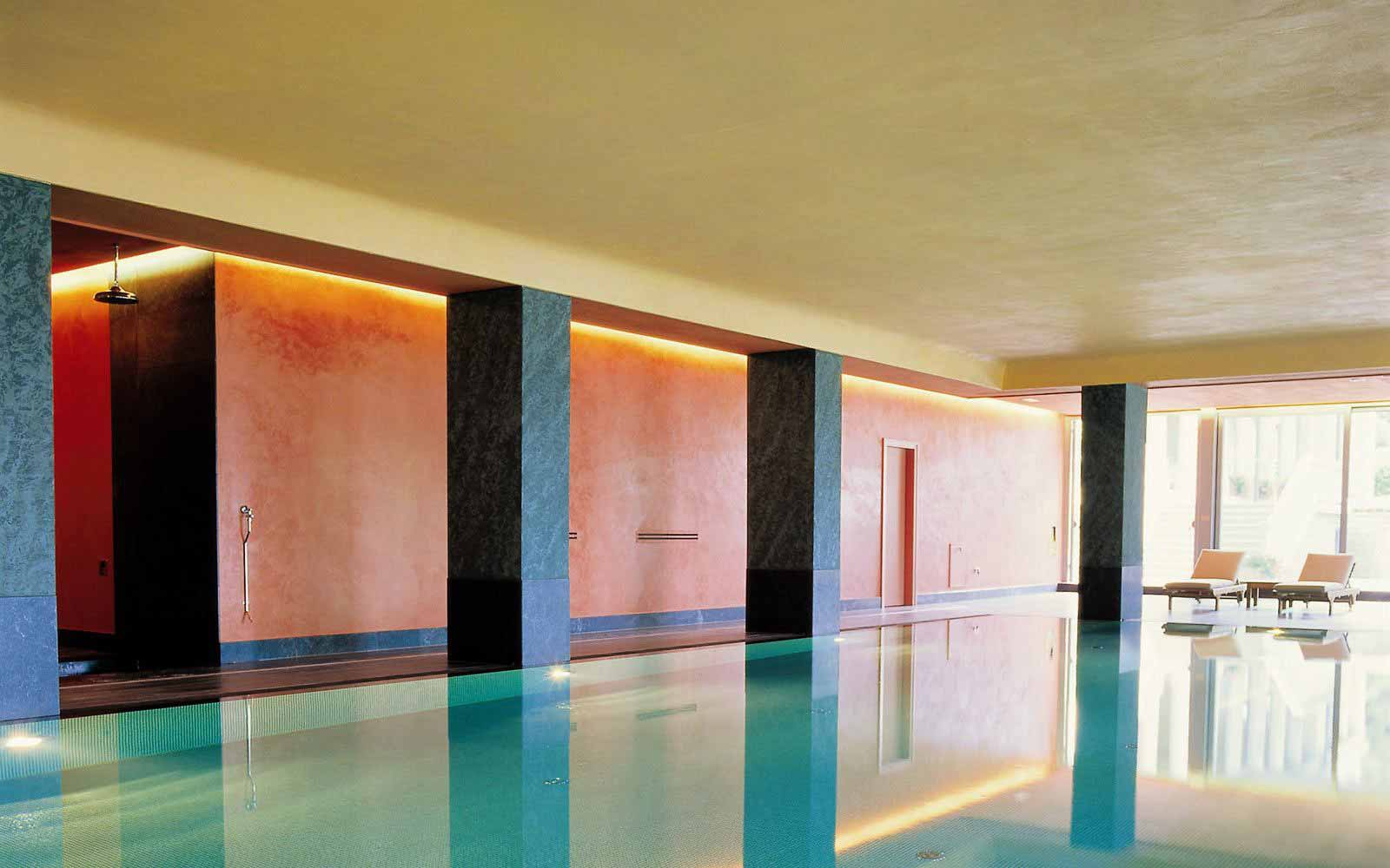 Indoor thalasso at Grand Hotel Majestic