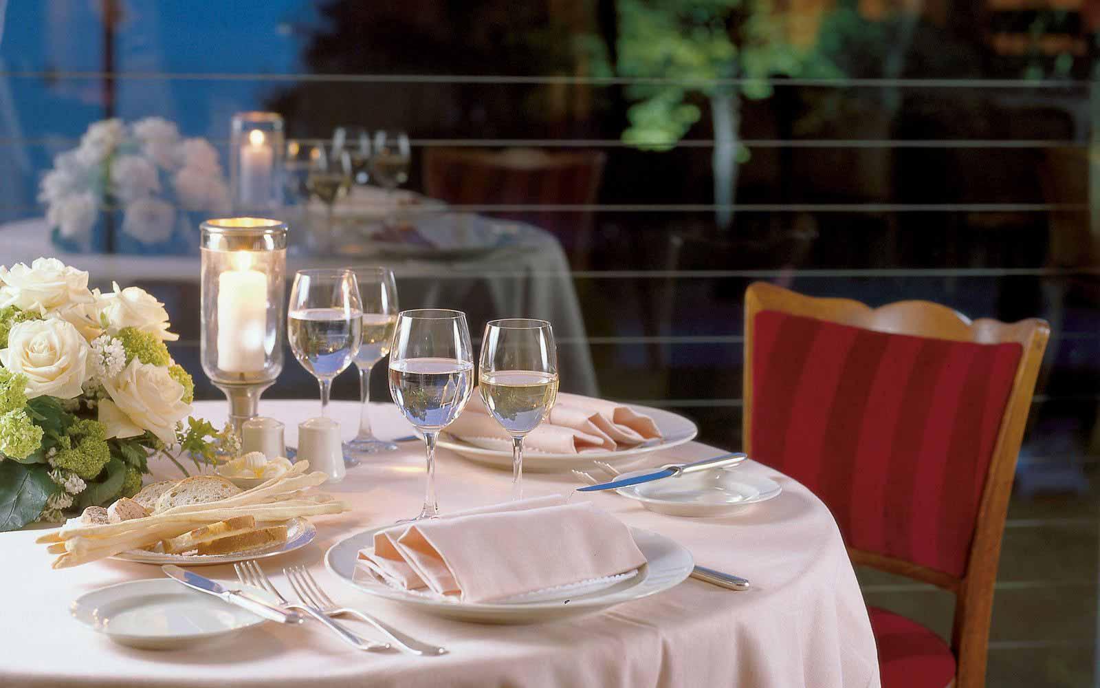 Romantic dinner at Grand Hotel Majestic