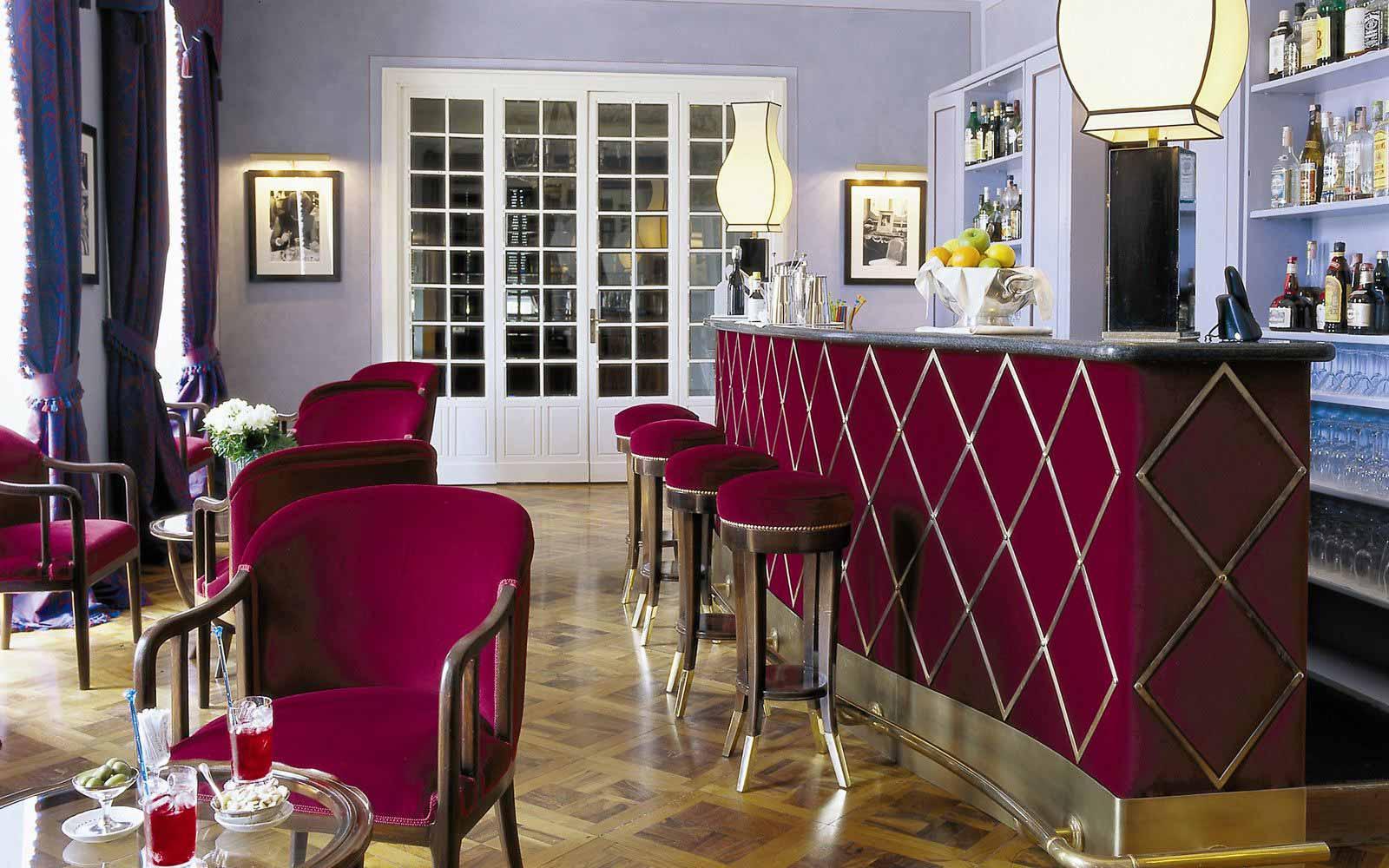 Bar at Grand Hotel Majestic