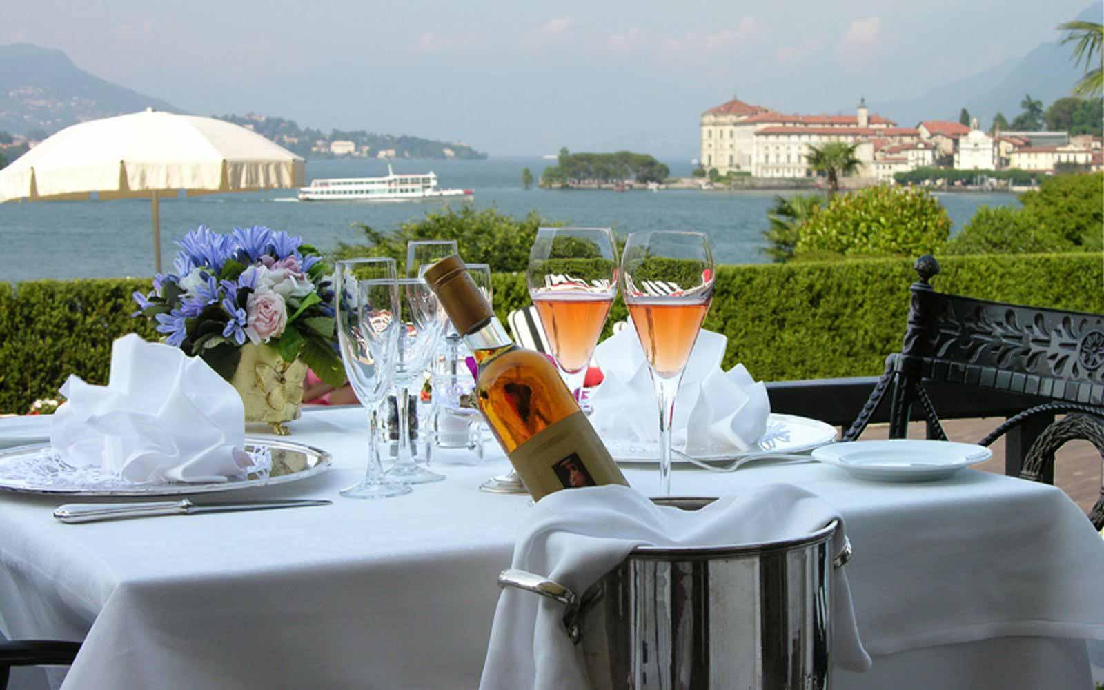 Restaurant at Villa e Palazzo Aminta