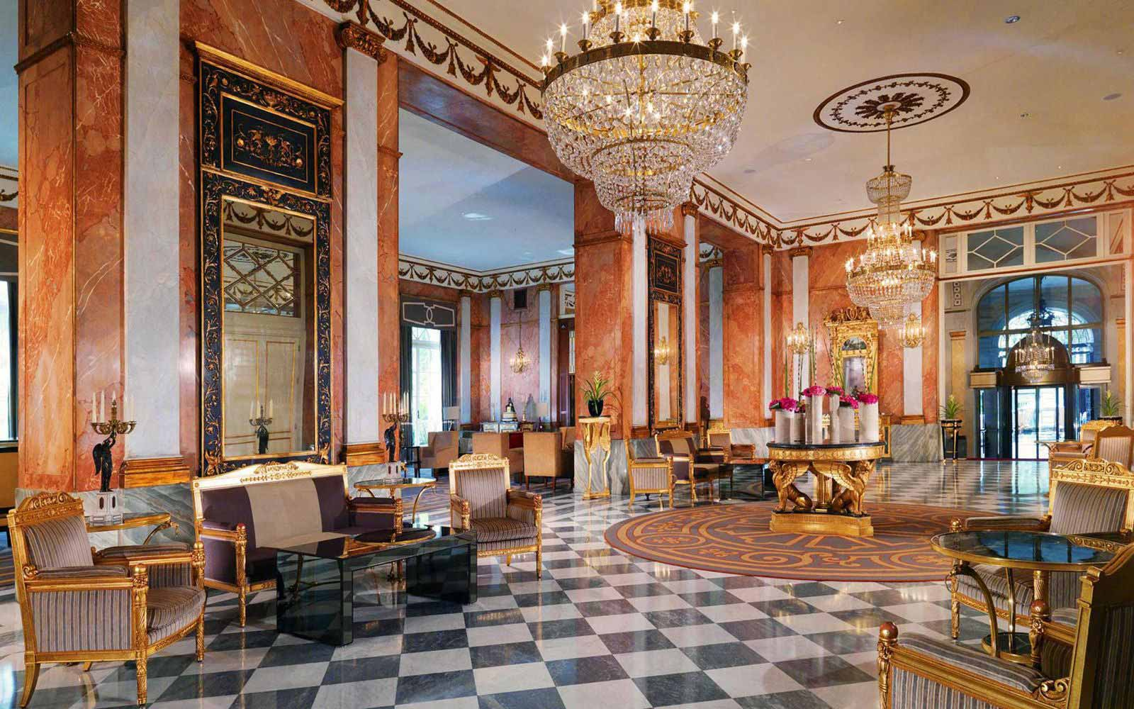 Hall of The Westin Excelsior