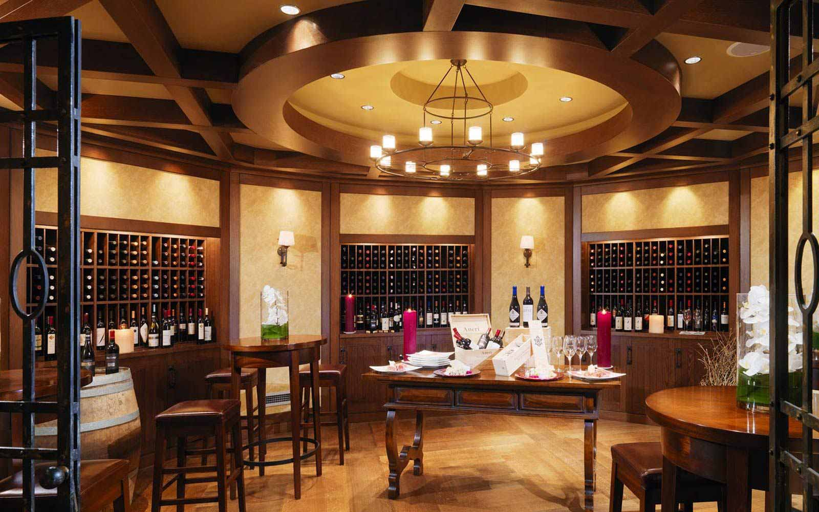 VinOrvm wine cellar at The Westin Excelsior