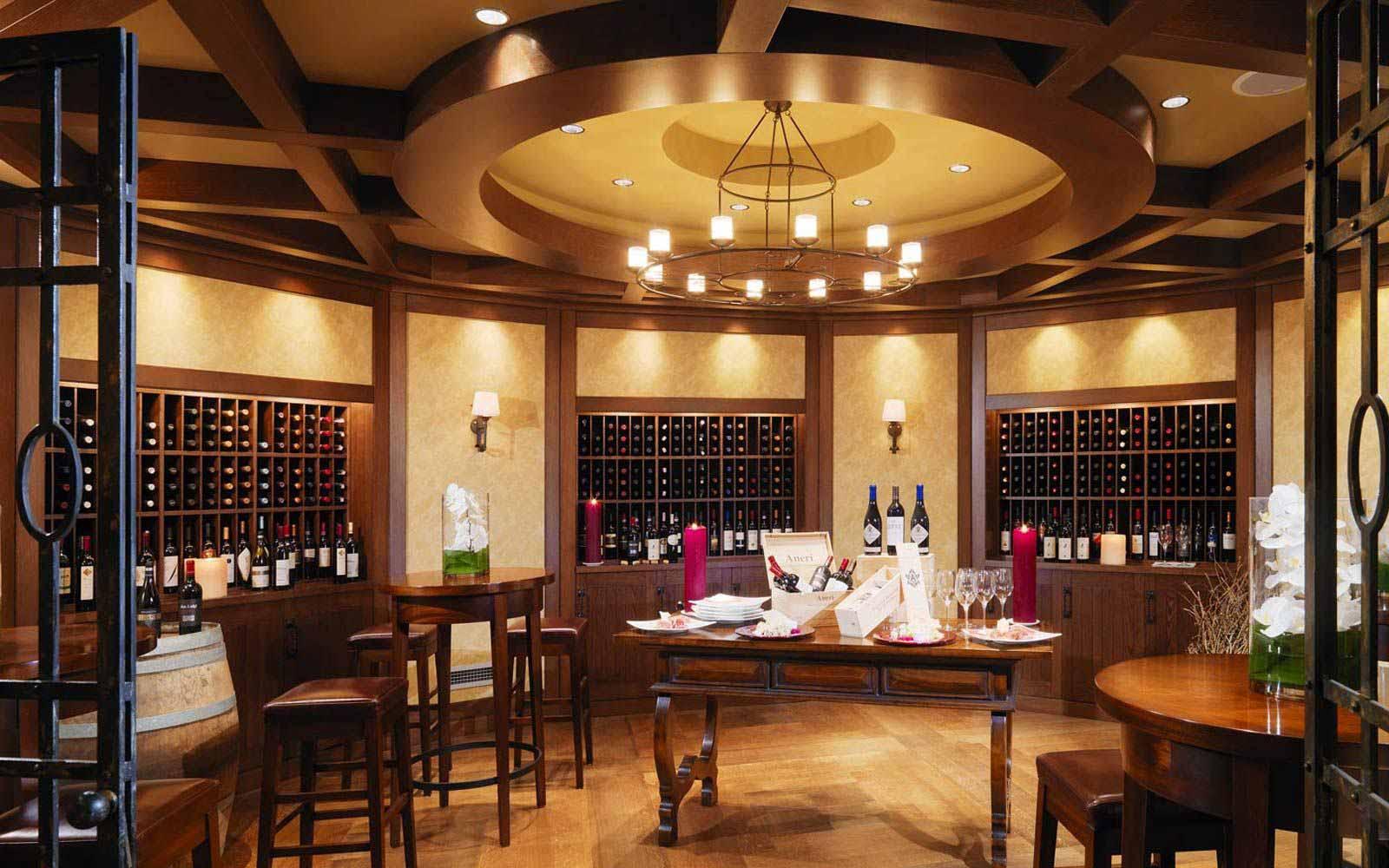 VinOrvm wine cellar at The Westin Excelsior