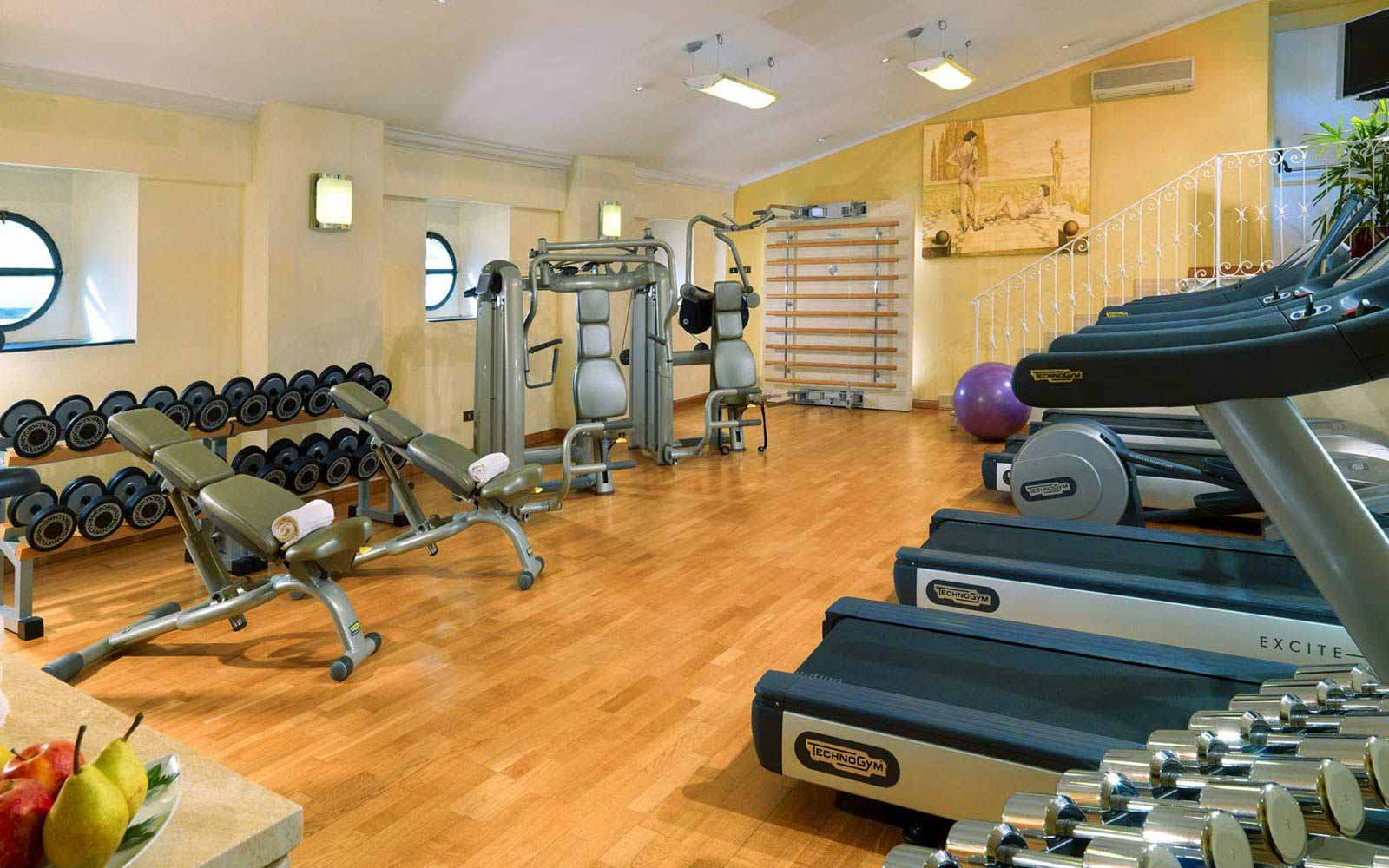 KamiSpa fitness centre at St.Regis Grand Hotel