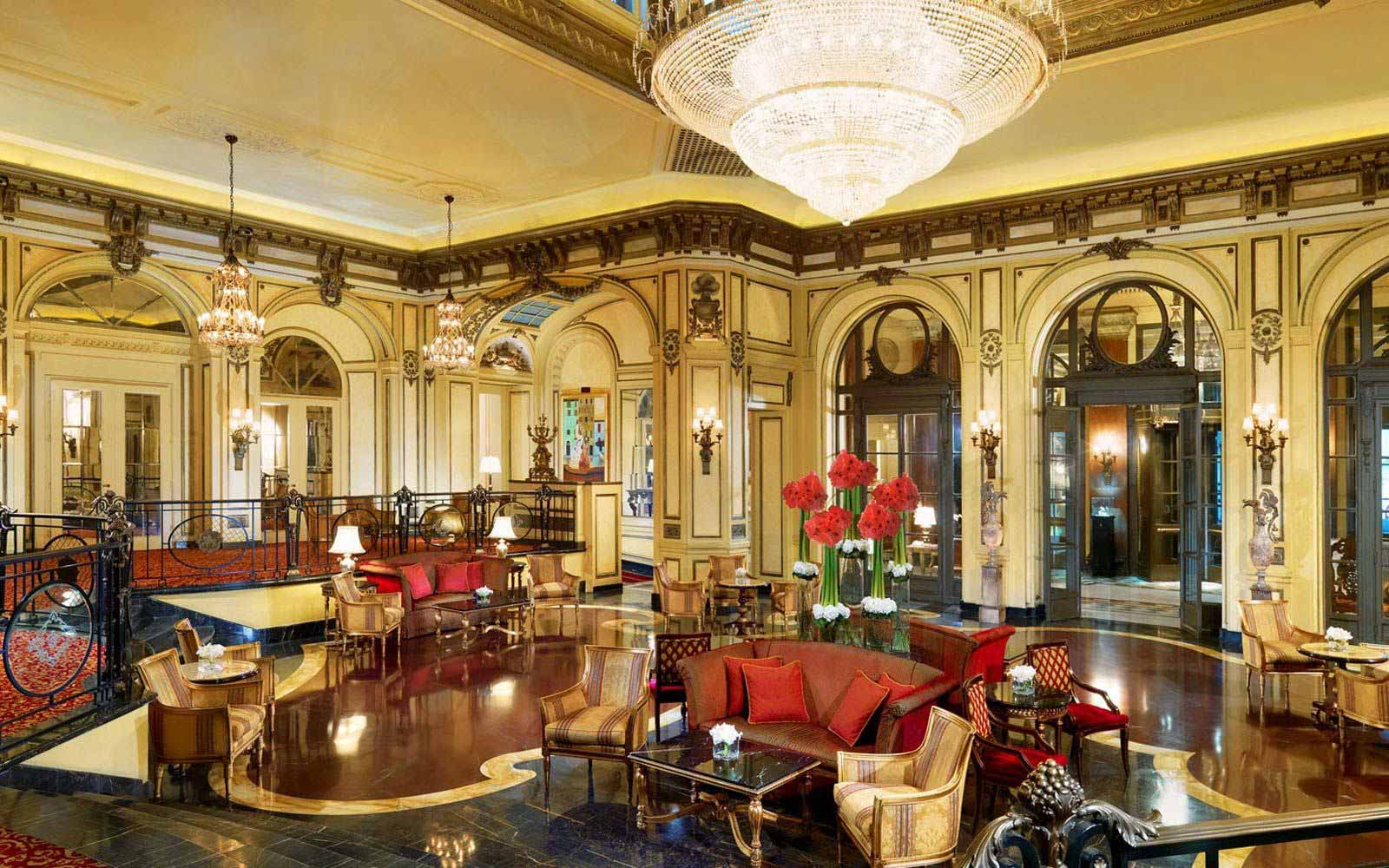 Grand Lobby at St.Regis Grand Hotel