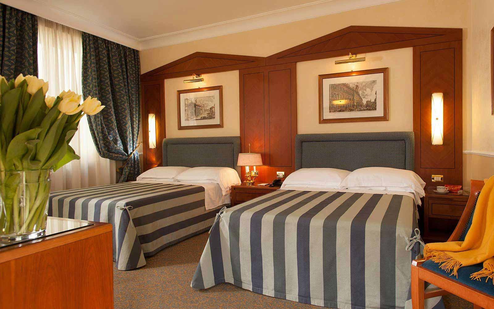 Executive room at Hotel Ludovisi Palace