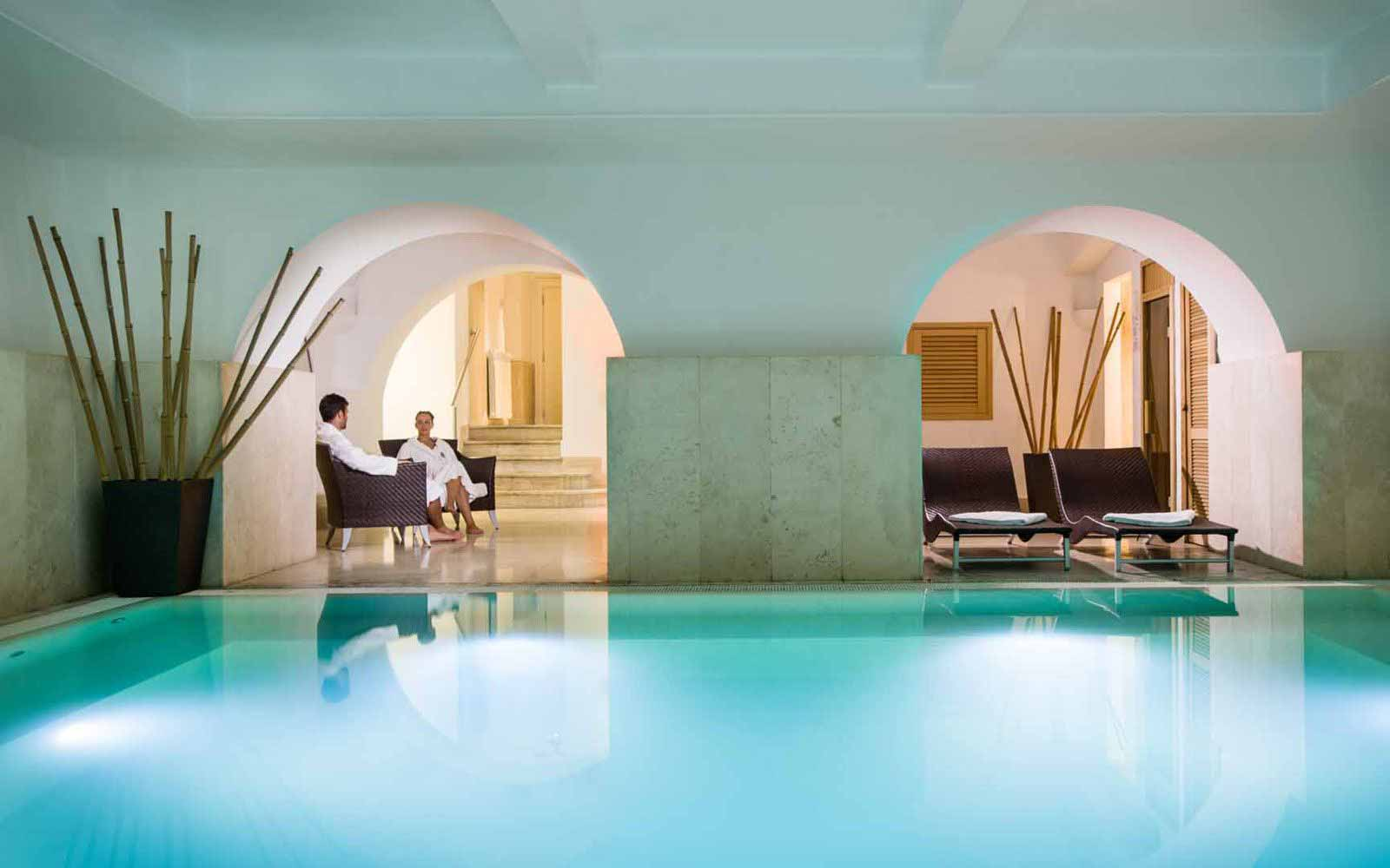 The spa at Rose Garden Palace
