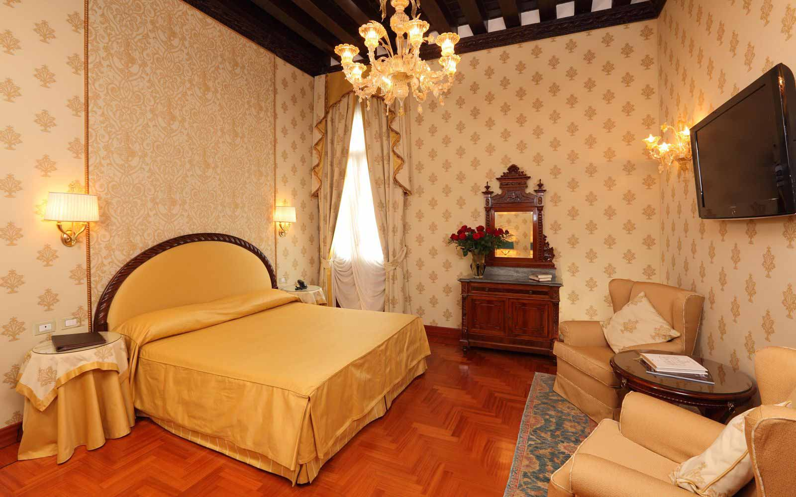Superior room at Palazzo Stern Hotel