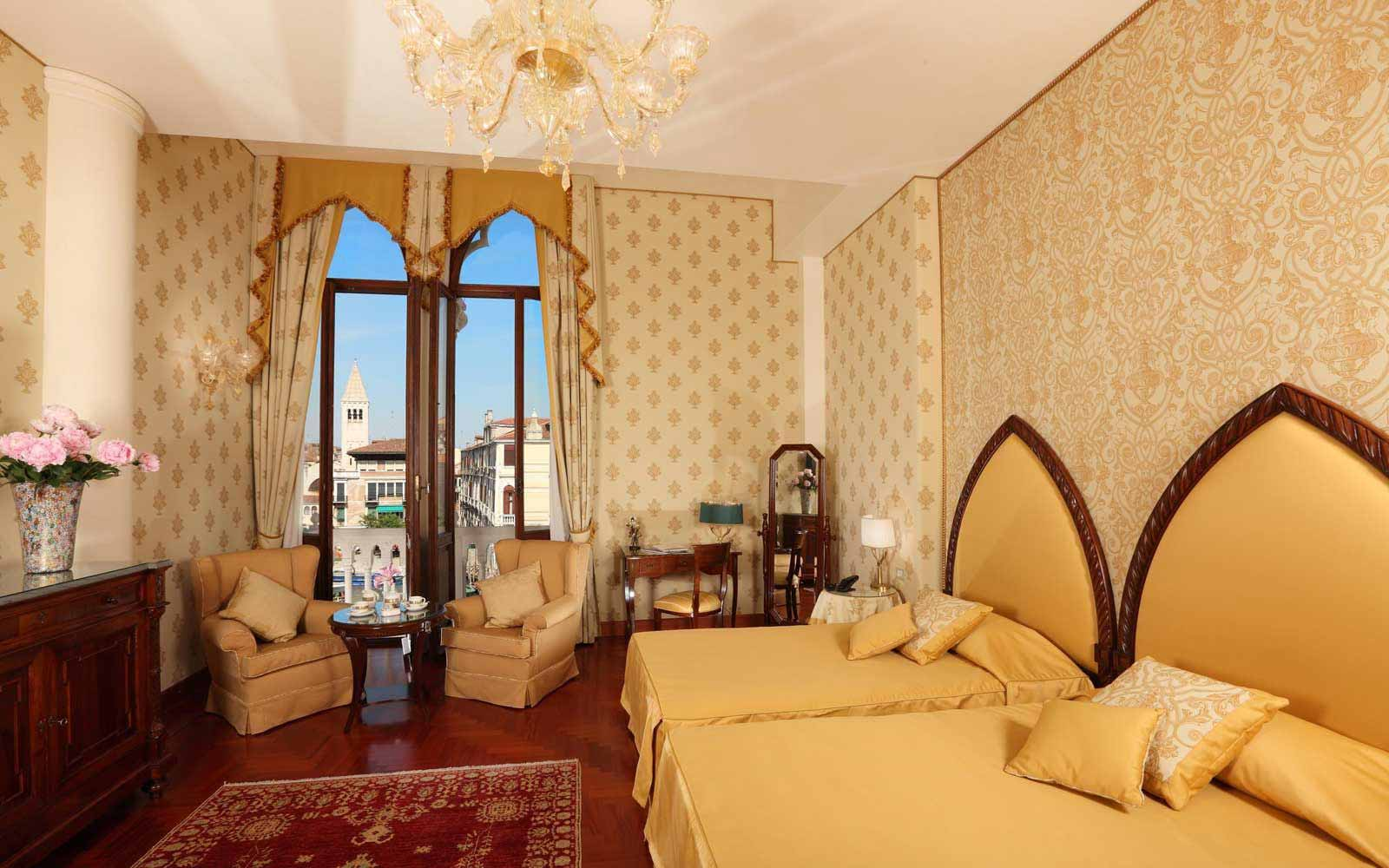 Junior suite at Palazzo Stern Hotel