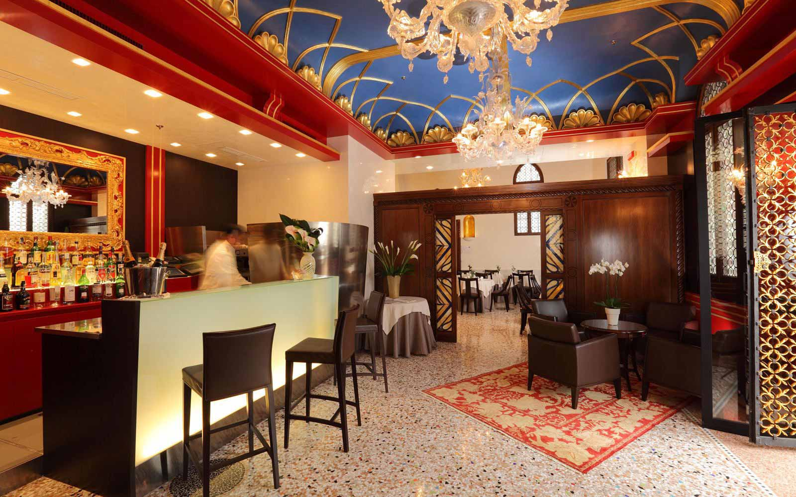 Bar at Palazzo Stern Hotel