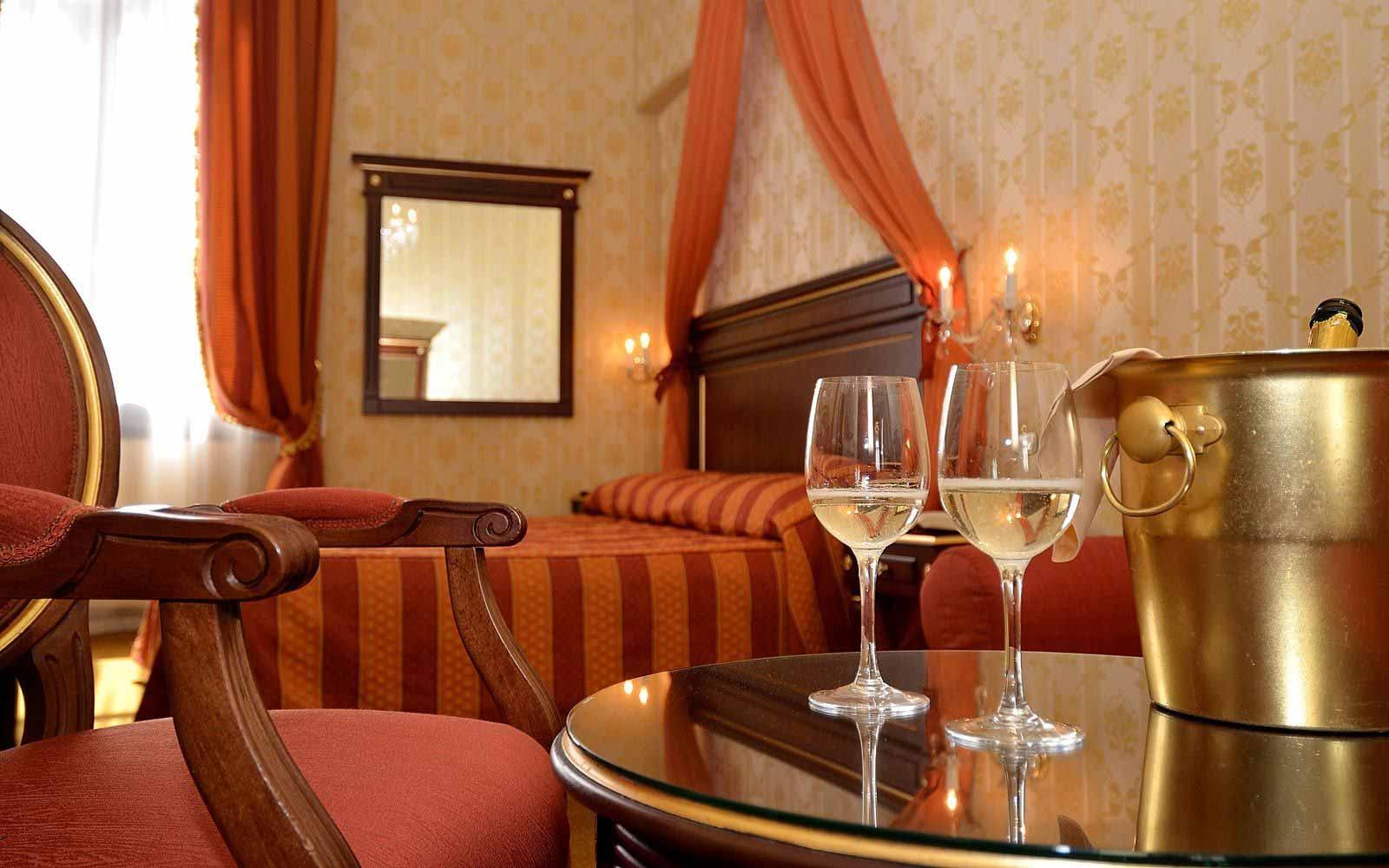 Champagne at Hotel Locanda La Corte