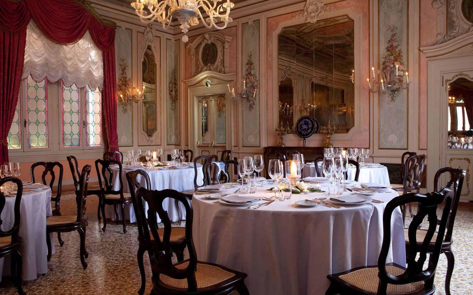 Restaurant at Luna Hotel Baglioni
