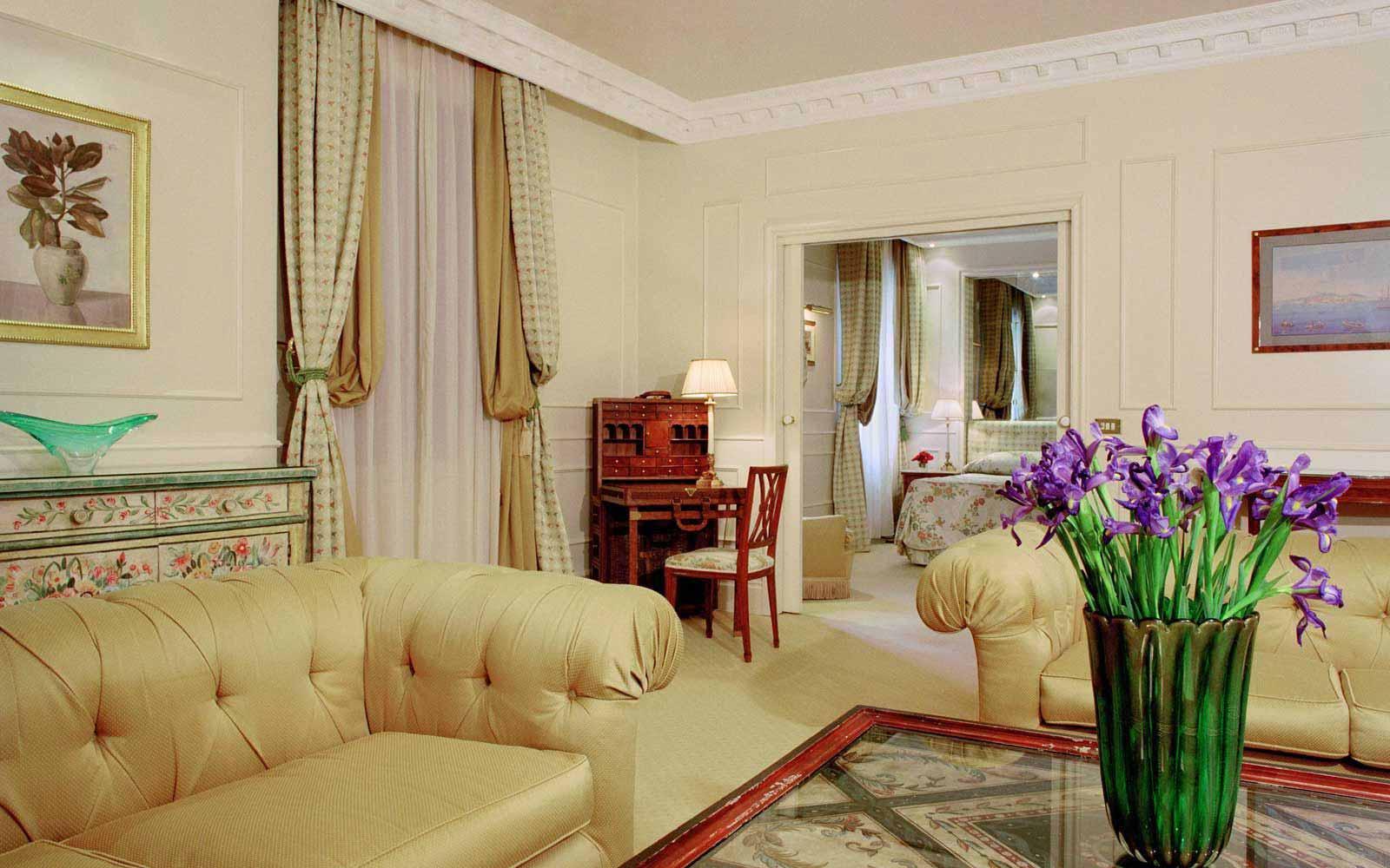 Superior suite at L'Hotel Bauer