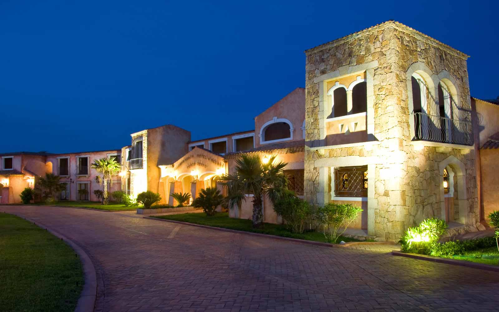 Entrance at Colonna Resort